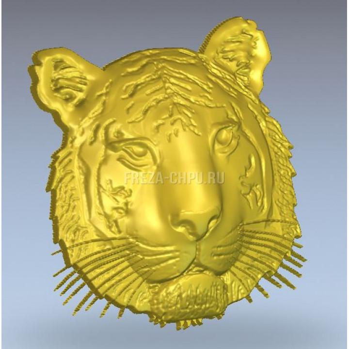 Тигр голова морда Tiger_head_032