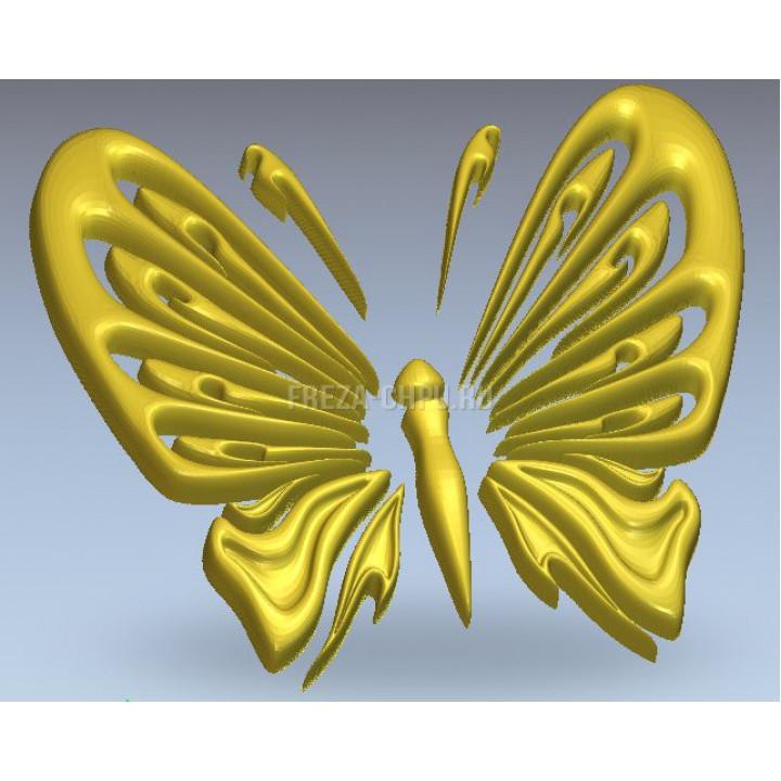 Узор 009 бабочка